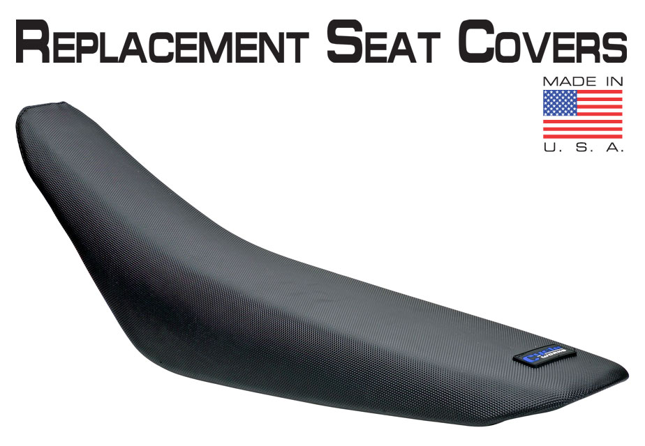 Cycle Works Motorcycle Seat Covers Black