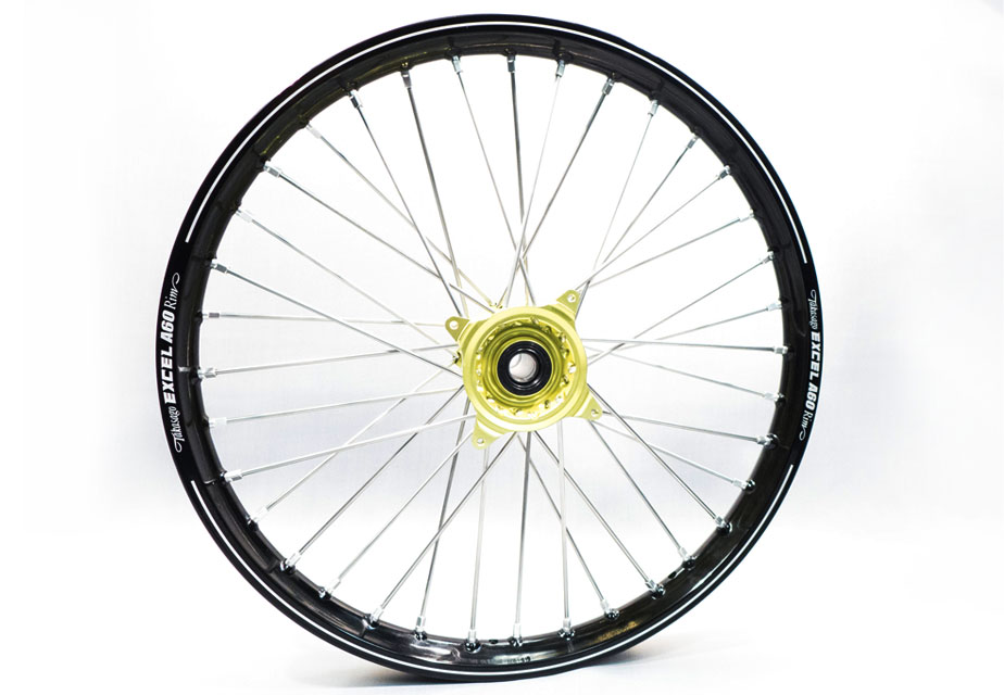 Haan Front A60 Yellow Hub