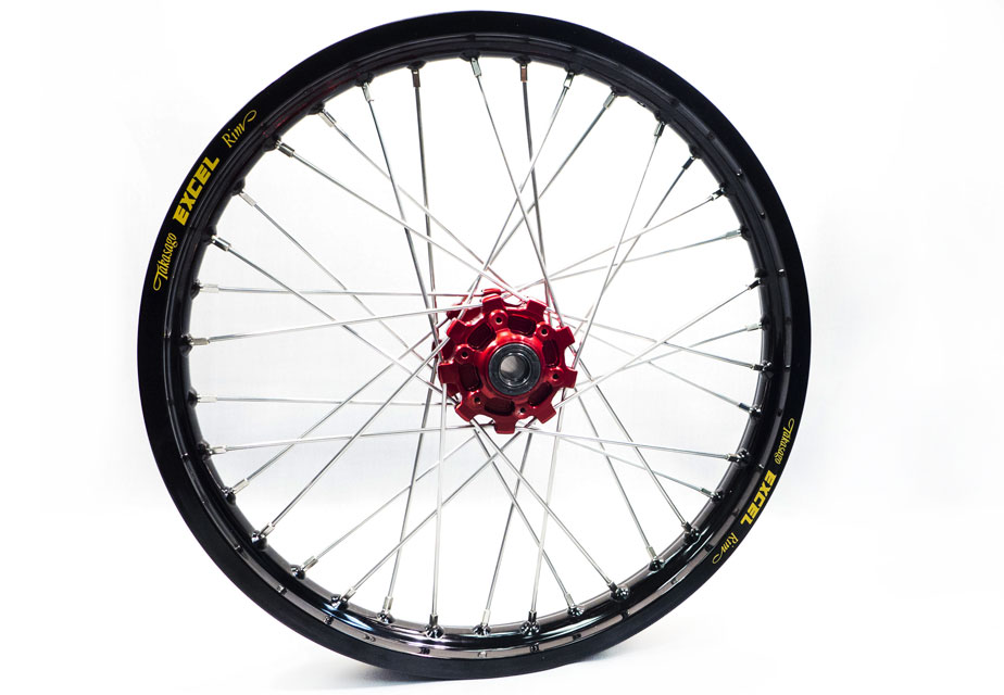 Haan Front ADV Red Hub