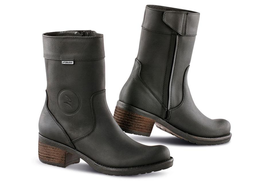 FALCO Ayda Black Women's Riding Boots