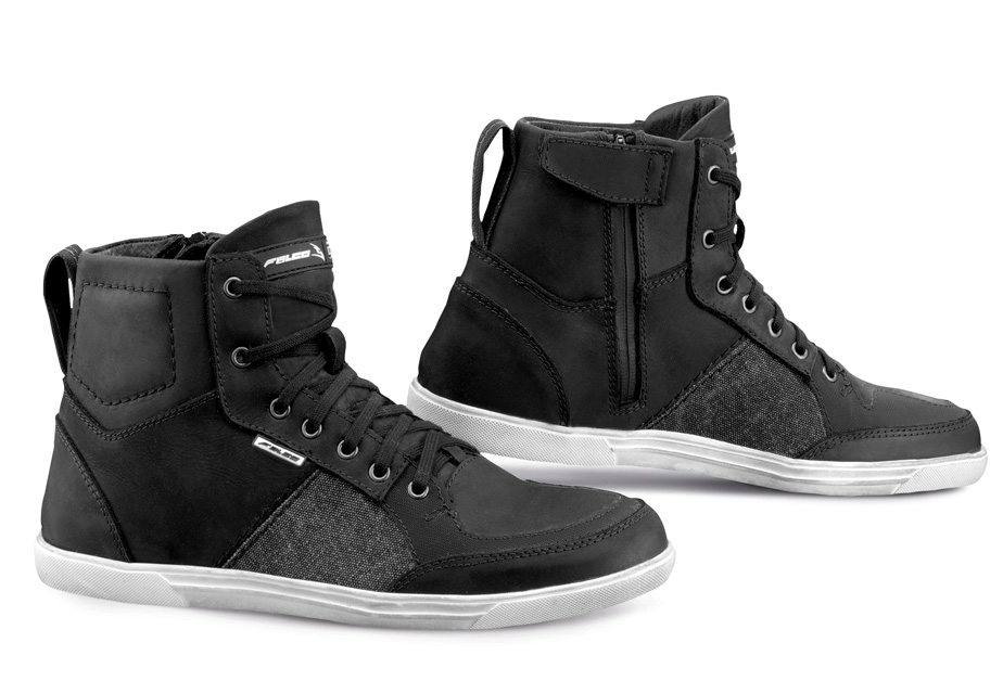 Shiro Black Motorcycle Riding Sneakers