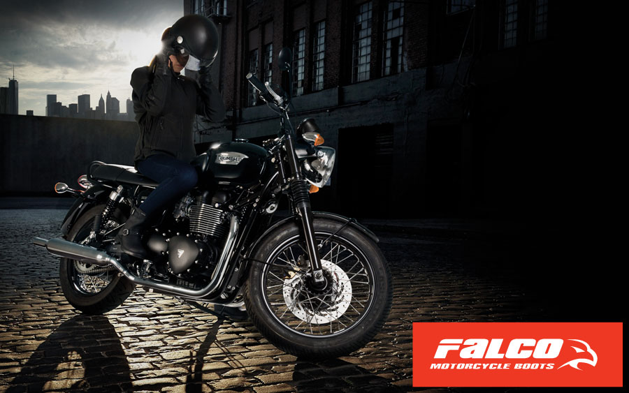 FALCO Women Motorcycle Boots
