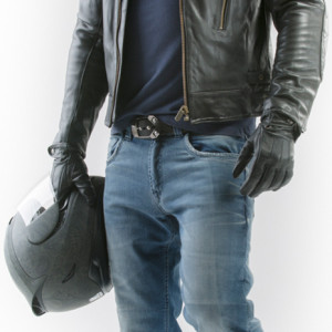 Gallante Blue Motorcycle Jeans