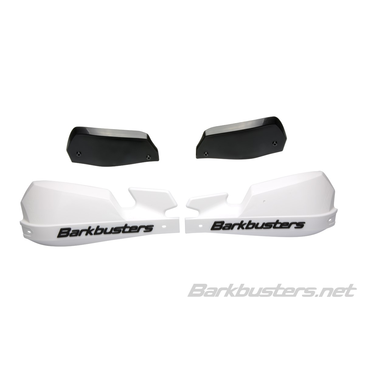 Barkbuster EGO WHITE Handguard Kit 22mm Two Point Straight Mount TRIAL//ENDURO